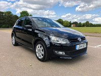 2014 VOLKSWAGEN POLO 1.2 MATCH EDITION 5d 59 BHP £6995.00