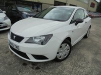 USED 2015 15 SEAT IBIZA 1.2 S A/C 3d 69 BHP Excellent Condition, Great City Car, No Fee Finance and No Deposit Necessary