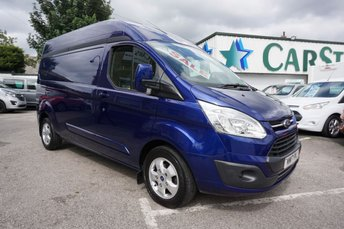 2017 FORD TRANSIT CUSTOM 290 2.0 TDCI 130 BHP LWB LIMITED HIGH ROOF 5DR ( EURO 6 ) £15989.00