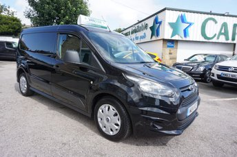 2014 FORD TRANSIT CONNECT 1.6 TDCI 240 L2 LONG TREND 5DR ( AIR CON & NO VAT !! ) £9989.00