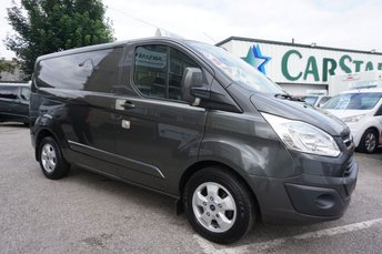 2015 FORD TRANSIT CUSTOM 290 2.2 TDCI 125 SWB LIMITED 5DR ( SAT NAV MEDIA ! ) £12689.00