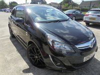 USED 2014 VAUXHALL CORSA 1.2 LIMITED EDITION 3d 83 BHP Brilliant Low Mileage, Excellent First Car, Low Rate Finance Available