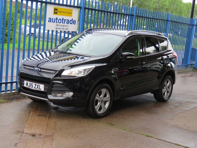 USED 2015 15 FORD KUGA 2.0 ZETEC TDCI 5dr DAB Cruise Bluetooth & audio Privacy Finance arranged Part exchange available Open 7 days