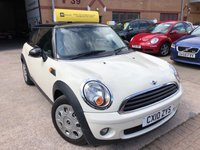 USED 2010 10 MINI HATCH FIRST 1.6 FIRST 3d 75 BHP