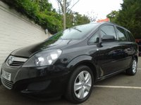 USED 2013 63 VAUXHALL ZAFIRA 1.6 EXCLUSIV 5d 113 BHP GUARANTEED TO BEAT ANY 'WE BUY ANY CAR' VALUATION ON YOUR PART EXCHANGE