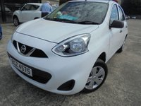 USED 2016 NISSAN MICRA 1.2 VISIA 5d 79 BHP Excellent Small Hatchback, Excellent Condition, No Fee Finance Available, No Deposit Needed, Part Ex Welcomed