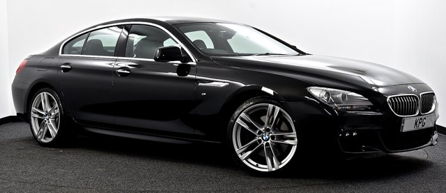 USED 2014 64 BMW 6 SERIES GRAN COUPE 3.0 640d M Sport Gran Coupe Steptronic 4dr Head Up, Camera's, M-Plus Pk +