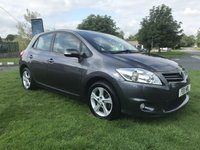 2011 TOYOTA AURIS 1.6 TR 5 door last local retired owner 6 years only 53000 miles £4495.00