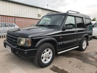 USED 2004 04 LAND ROVER DISCOVERY 2.5 TD5 140 BHP MANUAL COMMERCIAL 4X4 **NO VAT**