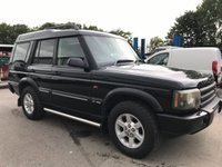 2004 LAND ROVER DISCOVERY 2.5 TD5 140 BHP MANUAL COMMERCIAL 4X4 **NO VAT** £1995.00