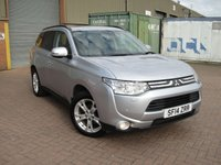 USED 2014 14 MITSUBISHI OUTLANDER 2.3 DI-D GX 4 5d 147 BHP ANY PART EXCHANGE WELCOME, COUNTRY WIDE DELIVERY ARRANGED, HUGE SPEC