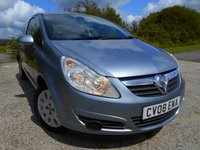 USED 2008 08 VAUXHALL CORSA 1.2 CLUB CDTI 3d 73 BHP **DIESEL ECONOMY**£30 TAX**LOW INSURANCE**ONE PREVIOUS OWNER**