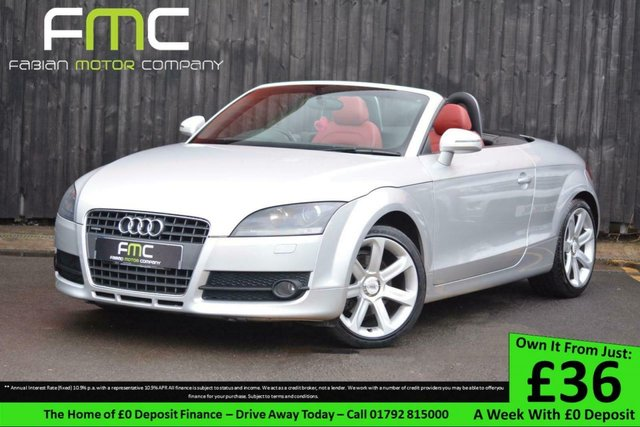 2009 09 AUDI TT 2.0TDI Quattro **Full Heated Red Leather**