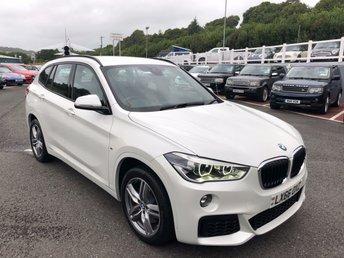 2016 BMW X1 2.0 XDRIVE25D M SPORT 5d AUTO 228 BHP £20999.00
