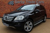 2010 MERCEDES-BENZ M CLASS 3.0 ML300 CDI BLUEEFFICIENCY SPORT 5d 204 BHP £8490.00