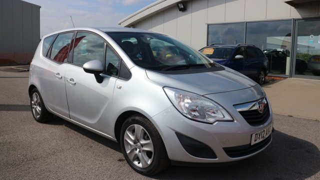 USED 2012 12 VAUXHALL MERIVA 1.4 EXCLUSIV A/C 5d 118 BHP 0% FINANCE AVAILABLE ON THIS CAR - ENDS 31ST AUGUST! APPLY NOW!!