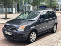 2007 FORD FUSION 1.4 FUSION PLUS 5d 78 BHP £2290.00