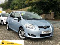 2009 TOYOTA AURIS 1.3 TR VVT-I S/S 5d 99 BHP £3295.00