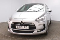 USED 2013 13 CITROEN DS5 2.0 HDI DSTYLE 5DR SAT NAV HALF LEATHER SEATS 161 BHP FULL SERVICE HISTORY + HALF LEATHER SEATS + SATELLITE NAVIGATION + REVERSE CAMERA + PANORAMIC ROOF + BLUETOOTH + CRUISE CONTROL + MULTI FUNCTION WHEEL + CLIMATE CONTROL + ELECTRIC WINDOWS + DAB RADIO + ELECTRIC MIRRORS + 18 INCH ALLOY WHEELS