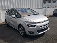 2014 CITROEN C4 GRAND PICASSO 1.6 E-HDI AIRDREAM EXCLUSIVE PLUS 5d 113 BHP £8990.00