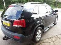 USED 2011 11 KIA SORENTO 2.2 CRDI 1 5d 195 BHP FINANCE AND PART EXCHANGE WELCOME. 3 MONTHS WARRANTY. ALL CARS HAVE A YEAR MOT AND A FRESH SERVICE.