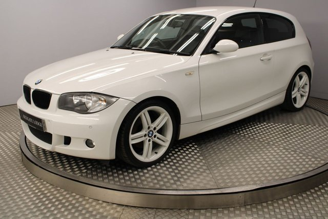 USED 2009 59 BMW 1 SERIES 2.0 120D M SPORT 3d 175 BHP