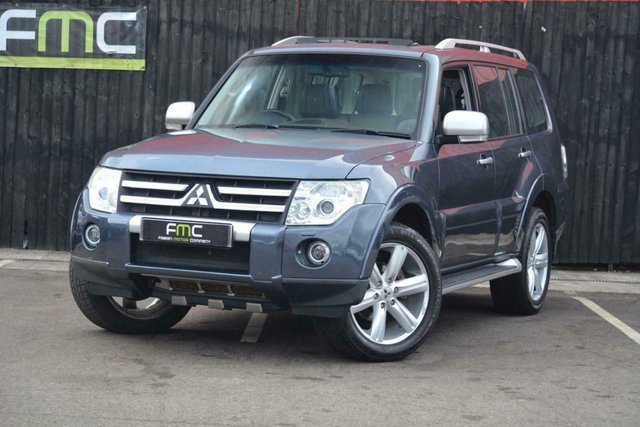 2007 07 MITSUBISHI SHOGUN 3.2TD 4X4 Auto Diamond **Only 58,000 Miles - 7 Seats**