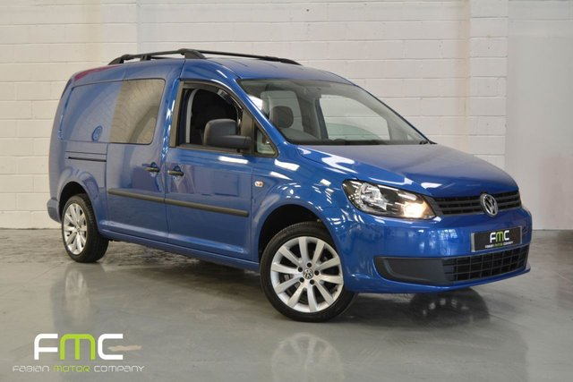 2013 63 VOLKSWAGEN CADDY MAXI 2.0TDI 140BHP *1 Owner - FSH - No VAT*