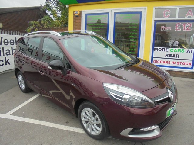 USED 2015 15 RENAULT GRAND SCENIC 1.5 LIMITED DCI EDC 5d AUTO 110 BHP