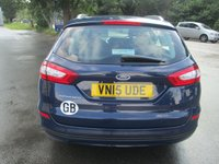 USED 2015 15 FORD MONDEO 2.0 ZETEC ECONETIC TDCI 5d 148 BHP ONLY £20 FOR 12 MONTHS ROAD TAX