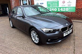 2016 BMW 3 SERIES 2.0 318D SE 4d 148 BHP £10499.00