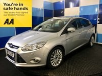 "USED 2013 13 FORD FOCUS 1.6 TITANIUM X TDCI 5d 113 BHP A stunning example of this  highly sought after family diesel hatchback finished in unmarked metalic silver enhanced with 17"" 15 spoke alloys.This car comes equiped with Fords park pilot (auto parking system),traction control.tpms ,dab cd radio with usb & aux imputs,dual zone climate control,heated seats with half leather interior,p/fold mirrors,start stop.xenon headlights with headlamp wash,autolights and wipers,plus all the usual refinements. This car reurns 67.3 combined mpg and £20 road tax"