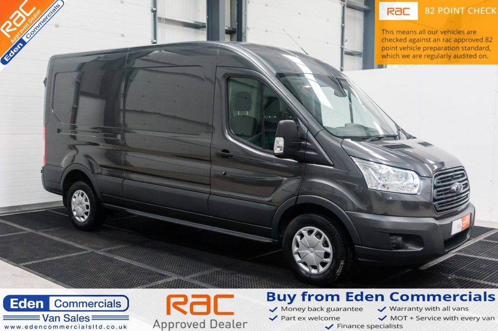 USED 2018 18 FORD TRANSIT 2.0 350 LWB L3 H2 129 BHP * TREND MODEL IN MAGNETIC GREY *
