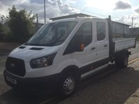 2018 FORD TRANSIT TIPPER DOUBLE CAB 350 L3 RWD 1-Stop 130ps £18950.00