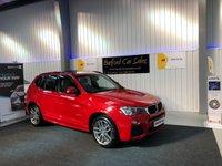 USED 2015 15 BMW X3 2.0 XDRIVE20D M SPORT 5d AUTO 188 BHP
