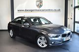 "USED 2016 65 BMW 3 SERIES 2.0 316D SPORT 4DR 114 BHP full service history * NO ADMIN FEES * FINISHED IN STUNNING MINERAL METALLIC GREY WITH ANTHRACITE UPHOLSTERY + FULL SERVICE HISTORY + SATELLITE NAVIGATION + BLUETOOTH + DAB RADIO + CRUISE CONTROL + LIGHT PACKAGE + SPORT SEATS + AUTO AIR CON + RAIN SENSORS + PARKING SENSORS + 17"" ALLOY WHEELS"