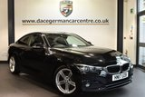 """USED 2017 17 BMW 4 SERIES 2.0 420D SPORT 2DR AUTO 188 BHP full service history * NO ADMIN FEES * FINISHED IN STUNNING BLACK WITH FULL LEATHER INTERIOR + FULL SERVICE HISTORY + SATELLITE NAVIGATION + BLUETOOTH + HEATED SEATS + DAB RADIO + CRUISE CONTROL + LIGHT PACKAGE + LED FOG LIGHTS + AUTO AIR CON + RAIN SENSORS + PARKING SENSORS + 18"""" ALLOY WHEELS"""