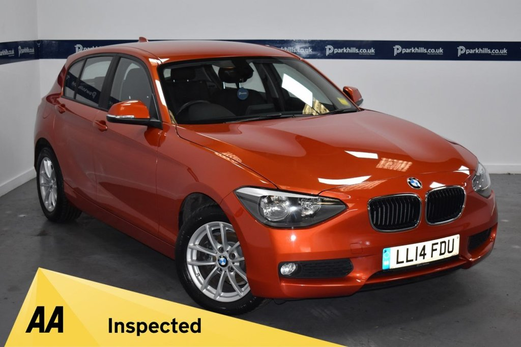 USED 2014 14 BMW 1 SERIES 1.6 114D SE 5d 95 BHP (ONE OWNER)