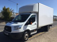 2015 FORD TRANSIT LUTON 2.2 350 LWB L4 DRW 125ps (No Tail Lift) £12245.00