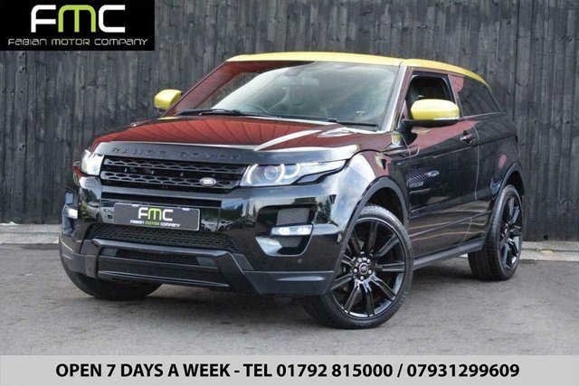 2013 63 LAND ROVER RANGE ROVER EVOQUE  2.2Sd4 4WD (190bhp) Special Edition *Bucket Seats - FSH*