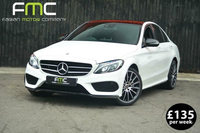 2018 18 MERCEDES-BENZ C CLASS  2.1D 4MATIC 9G-Tronic **Huge Spec**