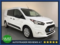 USED 2018 18 FORD TRANSIT CONNECT 1.5 240 TREND P/V 1d AUTO 118 BHP FULL FORD HISTORY - 1 OWNER - SAT NAV - REAR SENSORS - CAMERA - AIR CON - BLUETOOTH - DAB - CRUISE