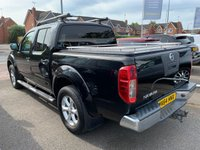 USED 2014 64 NISSAN NAVARA 2.5 DCI TEKNA 4X4 SHR 5 Seat Double Cab Lifestyle Pickup with Side Steps Roof Bars Towbar Mountain Top Sat Nav Heated Leather Seats and much more spec to list PREVIOUSLY LOCALLY OWNED