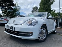 2014 VOLKSWAGEN BEETLE 1.6 DESIGN TDI BLUEMOTION TECHNOLOGY 3d 104 BHP £7990.00