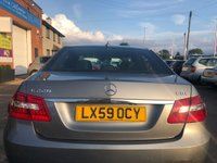 USED 2009 59 MERCEDES-BENZ E CLASS 2.1 E220 CDI BLUEEFFICIENCY SPORT 4d 170 BHP
