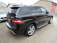 USED 2014 14 MERCEDES-BENZ M CLASS 3.0 ML350 BLUETEC AMG SPORT + 7 SPD AUTO + 1 OWNER + FSH