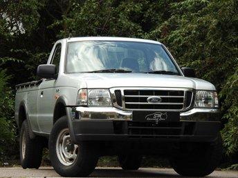 2004 FORD RANGER 2.5 REGULAR CAB 4X4 TD 1d 107 BHP £7495.00