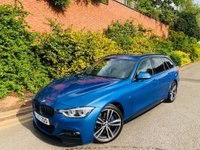 USED 2017 17 BMW 3 SERIES 2.0 318d M Sport Touring Auto (s/s) 5dr PERFORMANCE KIT 19S HK 1OWNER