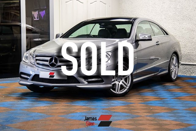 USED 2012 12 MERCEDES-BENZ E CLASS 3.0 E350 CDI BLUEEFFICIENCY SPORT 2d AUTO 265 BHP 6-Stamp Service History | Excellent Specification