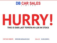 USED 2016 66 TOYOTA HI-LUX 2.4 ACTIVE 4WD D-4D DCB 1d 148 BHP NO DEPOSIT AVAILABLE, DRIVE AWAY TODAY!!